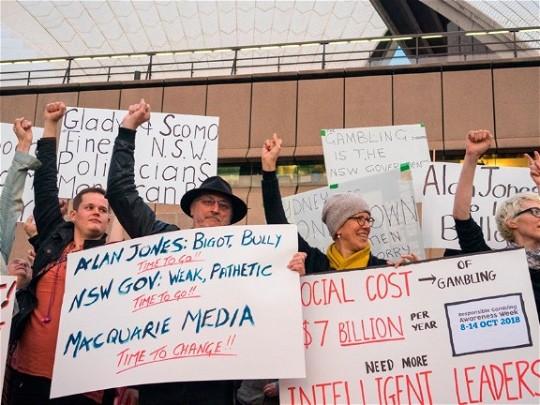 'Shock Jocks' versus consumer activism