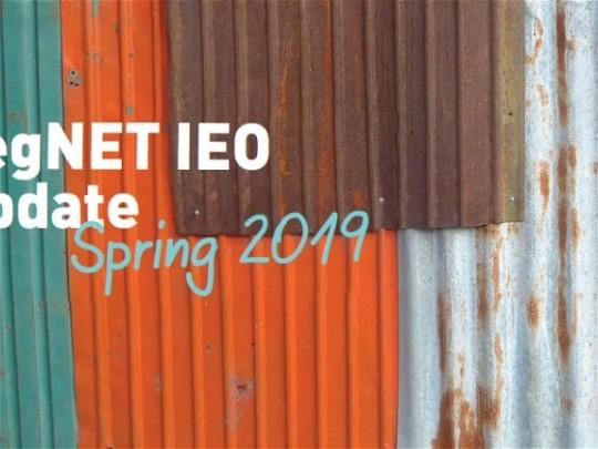 VegNET IEO update