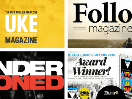 Digital Magazine App Examples by MagLoft Publishers